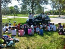 lezione al parco